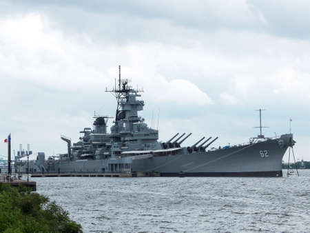 deck cannon: Battle ship new jersey