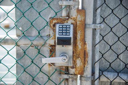 teclado num�rico: puerta asegurada