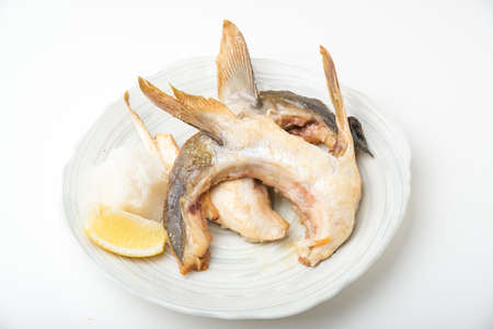 grilled yellow tail head