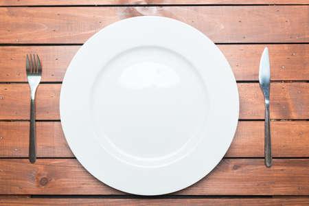 rustic: rustic tableware Stock Photo