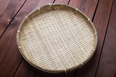 japones bambu: colador de bamb� japon�s
