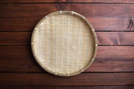 japones bambu: colador de bambú japonés