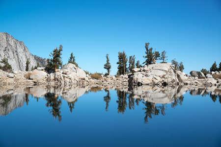lone pine: lone pine lake at mount whitney, october 2016