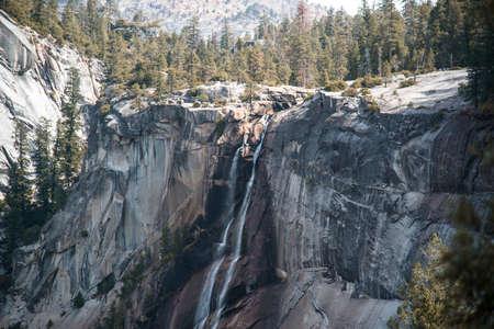 nevada: Nevada Fall in Autumn, Yosemite