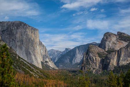 Autumn Yosemite from tunel view