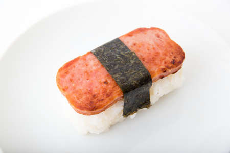 Spam musubi Stockfoto