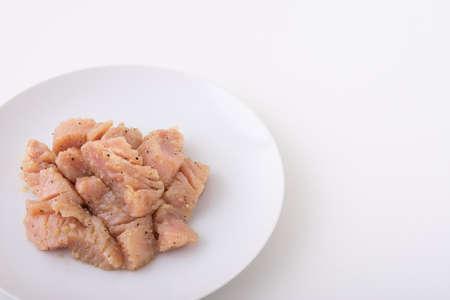 beef tripe, mino for japanese yakiniku 版權商用圖片