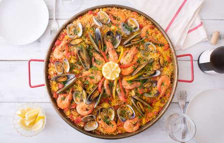 paella 免版税图像