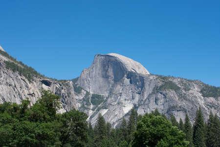 dome of the rock: Yosemite Half Dome in June