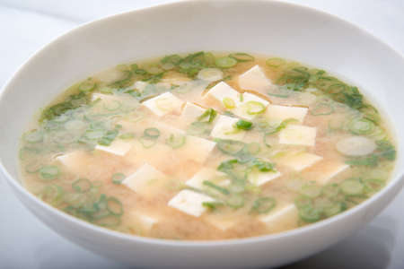 miso soup, japanese soy paste soup
