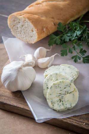 garlic butter with bread Stock fotó - 88233755