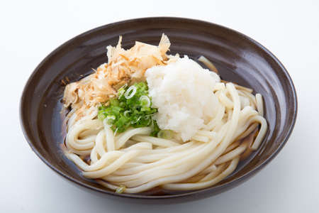 udon noodle with shredded daikon