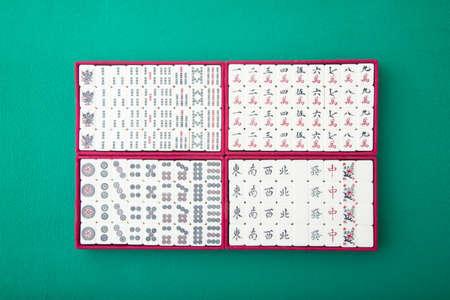 mahjong tiles collection