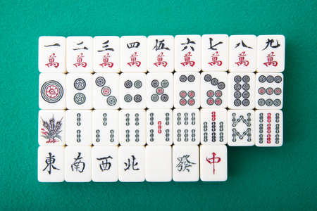 image relating to Mahjong Card Printable named Mahjong Inventory Visuals And Illustrations or photos - 123RF