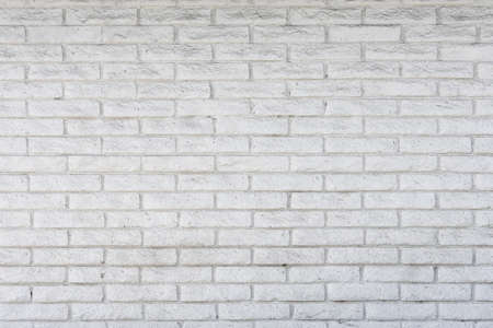white painted brick background