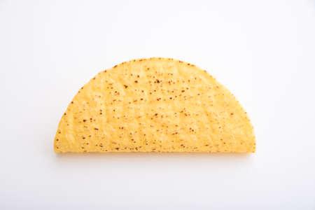 isolated tacos hard shell