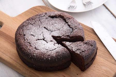 french style chocolate cake