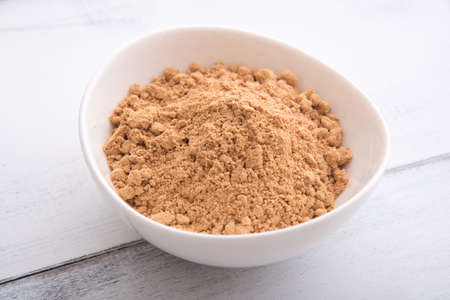 kinako, japanese soy bean powder Stock Photo