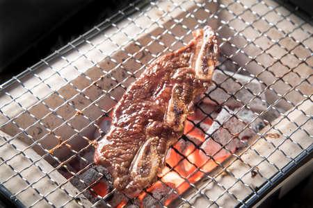 short rib with bone, Yakiniku, japanese bbq