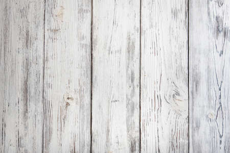 vintage white painted wood background Фото со стока