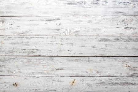 Vintage weiß lackierter Holzhintergrund
