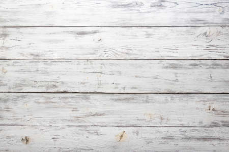 vintage white painted wood background