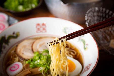 japanese authentic chicken broth ramen