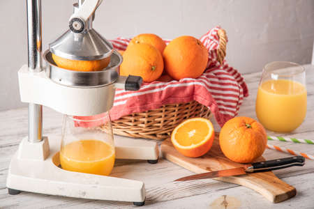 fresh squeezed orange juice image