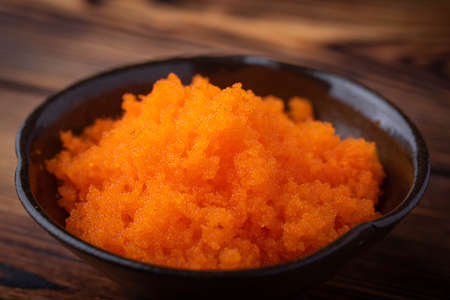 masago, japanese raw fish roe for sushi Stockfoto