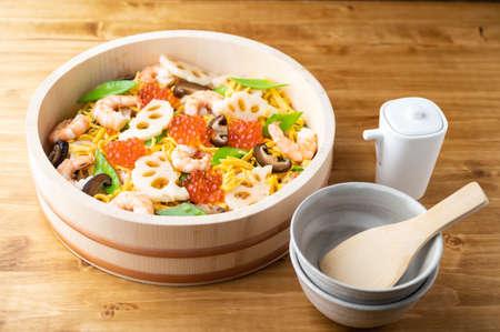 Chirashi-Suhi, japanese party style sushi