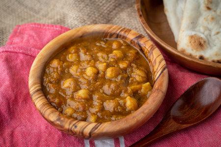 channa masala, traditional indian food