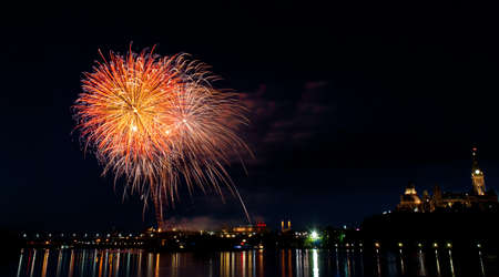 exhilaration: Fireworks in the City