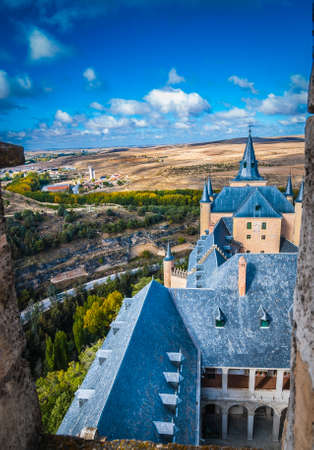 filming point of view: View from rooftop at Alcazar.