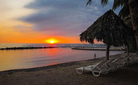 sunsets: Sunsets in El Salvador.