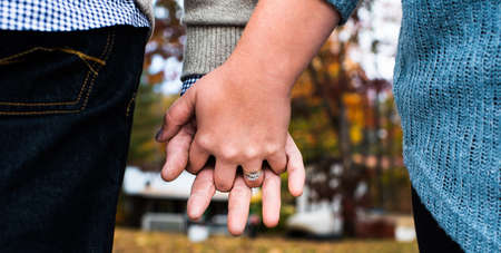 With this ring ... Stock Photo