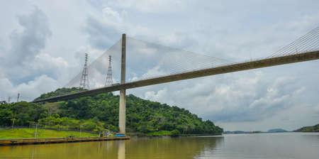 Centennial Bridge, Puente Centenario, crossing the Panama Canal Standard-Bild