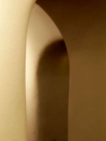 The arches that seem to form a secret passage into the unknown, at the same time beautiful, artistic, and mysteriously