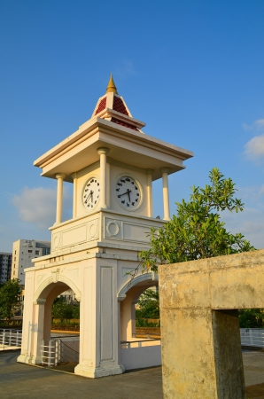 Thai clock tower at Phuket