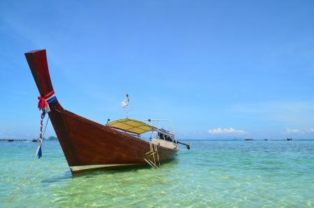 longtail: longtail boat at Krabi