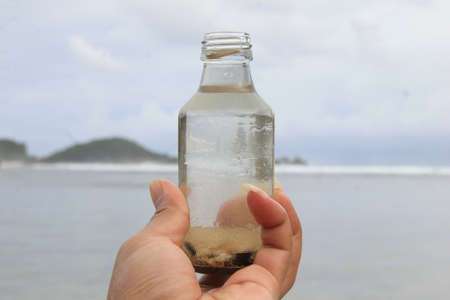 Beach Focus in Bottle