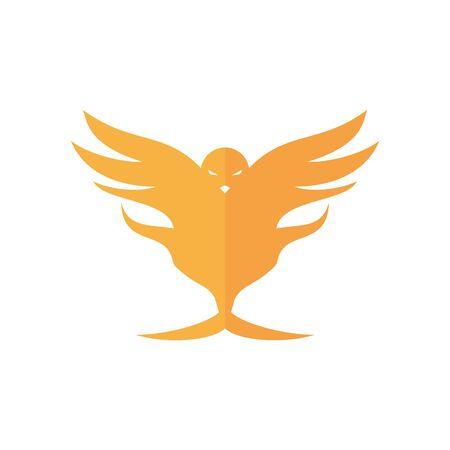 logo design lion bird vector