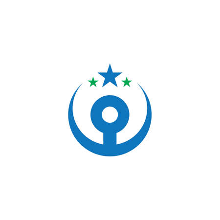 circle star education business logo