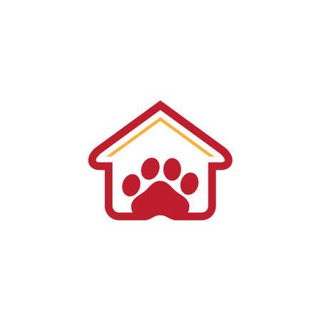 house pet shop logo