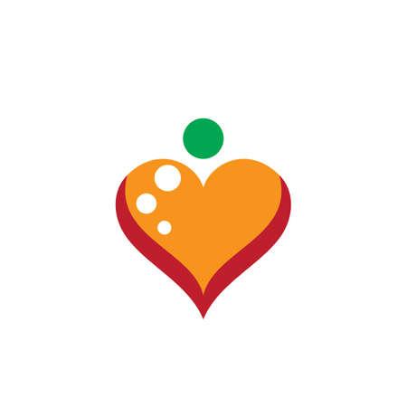 love logo vector Ilustração