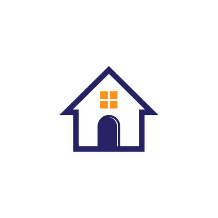 house logo design Иллюстрация