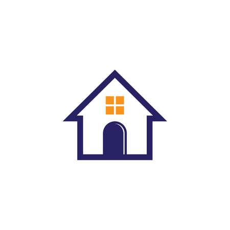 house logo design Illustration