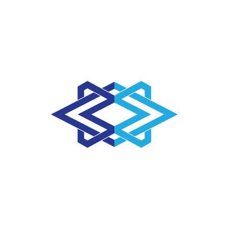 abstract business logo Ilustração