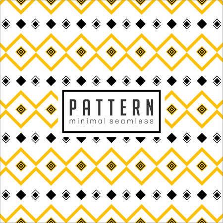 Fondo de patrón de línea geométrica abstracta Ilustración de vector