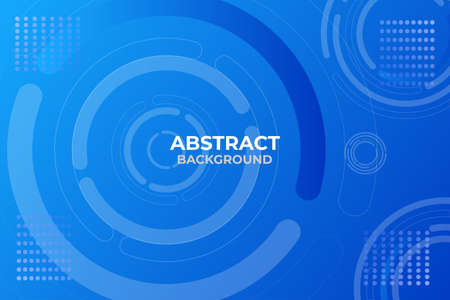 Vector illustration abstract background landing page, very good for business web background etc. Çizim