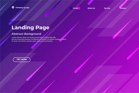 Vector illustration Abstract background landing page, very good for business web background etc.